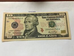 United States Hamilton $10 Uncirc. Banknote 2006 #1 - Nationale Valuta