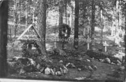 CARTE PHOTO VOGESEN VALLEE DE LA FECHT ? 1915 FRIEDHOF CIMETIERE  SOLDATS DU RIR 74 (RESERVE INFANTERIE REGIMENT Nr. 74) - Frankreich