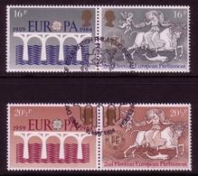 GROSSBRITANNIEN MI-NR. 988-991 O ZD BRÜCKEN EUROPA 1984 - Europa-CEPT