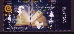 KROATIEN MI-NR. 953-954 POSTFRISCH(MINT) EUROPA 2010 KINDERBÜCHER - 2010