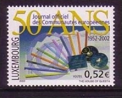 LUXEMBURG MI-NR. 1598 POSTFRISCH(MINT) AMTSBLATT DER EUROPÄISCHEN GEMEINSCHAFTEN - Idee Europee