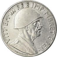 Monnaie, Albania, Vittorio Emanuele III, Lek, 1939, Rome, SUP+, Stainless Steel - Albanië
