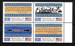 PALAU MI-NR. 1-4 POSTFRISCH(MINT) POSTALISCHE UNABHÄNGIGKEIT - Palau