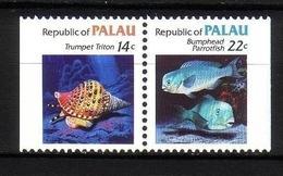 PALAU MI-NR. 74-75 D POSTFRISCH(MINT) FISCHE - Palau