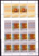 IRLAND MI-NR. 825-826 POSTFRISCH(MINT) KLEINBOGENSATZ EUROPA 1993 MODERNE KUNST - Europa-CEPT