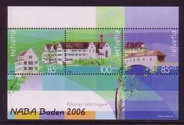 SCHWEIZ BLOCK 40 POSTFRISCH(MINT) NABA '06 - KLOSTER WETTINGEN - Blocks & Kleinbögen