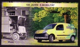 ÖSTERREICH BLOCK 75 POSTFRISCH(MINT) EUROPA CEPT 2013 POSTFAHRZEUGE - Blocks & Sheetlets & Panes