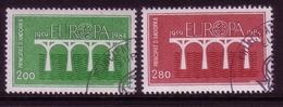 ANDORRA FRANZÖSISCH MI-NR. 350-351 O EUROPA 1984 - BRÜCKE - Europa-CEPT