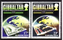 GIBRALTAR MI-NR. 475-476 O EUROPA 1984 MARKE AUF MARKE - Europa-CEPT