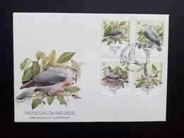 MADEIRA MI-NR. 143-146 FDC MADEIRA-LORBEERTAUBE WWF 1991 - Madeira