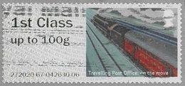 GB 2017 Mail By Rail 1st Type 6 Code 272020 Used [32/165/ND] - Gran Bretagna