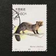 ◆◆◆ CHINA 2001-4  Wildlife   $2.60   (10-9)  USED  AA8231 - 1949 - ... République Populaire