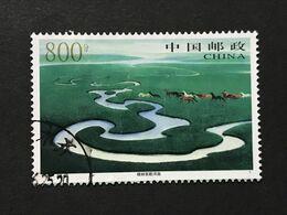 ◆◆◆CHINA 1998  Xilinguole Grassland     800F   USED  AA8247 - 1949 - ... République Populaire