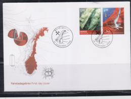 GEOLOGY - NORWAY - 2005- GEOLOGICAL RESEAECH SET OF 2 ON  ILLUSTRATED   FDC - Autres
