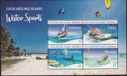 Cocos (Keeling) Islands 2019 Water Sports MNH ** - Kokosinseln (Keeling Islands)
