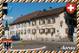 Postcard, REPRODUCTION, Switzerland, Canton Aargau, Aarau - Landkaarten