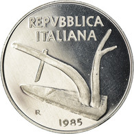 Monnaie, Italie, 10 Lire, 1985, Rome, Proof, FDC, Aluminium, KM:93 - 10 Lire