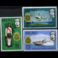 BRUNEI 1971 - Scott# 162-4 Malay Reg. Set Of 3 MNH - Brunei (1984-...)