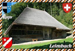 Postcard, REPRODUCTION, Switzerland, Canton Aargau, Leimbach - Landkaarten