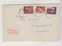 CROATIA WW II,1944 KARLOVAC Priority Censored Cover - Croazia