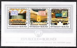 BL99**  25ème Anniversaire Des Nations Unies - Bonne Valeur - MNH** - LOOK!!!! - Burundi
