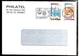 34869 - 2 TP UNESCO - Lettres & Documents