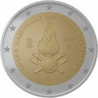 Italia - 2 Euro Vigili Del Fuoco - MONETA DA ROTOLINO - Italie
