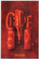 Livre - Catalogue Des Vins NICOLAS - 2001 - Gastronomie