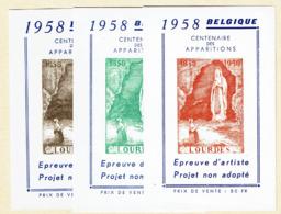 E 76  Brun, Rouge Et Vert  **  12 - Belgique