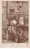 Corot (Musée Du Louvre) - La Femme En Bleu - Pintura & Cuadros