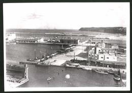 Fotografie Ansicht Gdingen, Fischhafen Im Jahr 1938 - Lugares