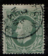 30  Obl Sc  Reckheim  + 8 - 1869-1883 Leopold II.