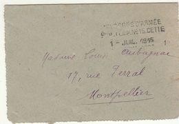Hérault CLFM  Hôpital Temporaire N° 15 Cette 1915 - Oorlog 1914-18