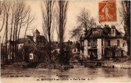 CPA MONTIGNY-sur-LOING - Vers Le Gue (103089) - Montigny Le Bretonneux