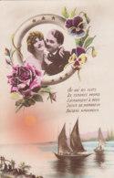 Couple (Fantaisie) - 94  - Au Gré Des Flots - Voilier - Fleurs - Couples
