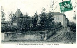 N°2127 R -cpa Fontaines Saint Martin -château Du Buisson- - Frankreich