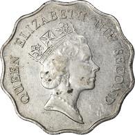 Monnaie, Hong Kong, Elizabeth II, 2 Dollars, 1989, TTB, Copper-nickel, KM:60 - Hong Kong