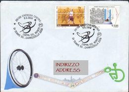 CREMONA, 2008 Coppa Del Mondo Di Tennis Su Carrozzella Wheelchair Tennis En Fauteuil Roulant Rollstuhltennis ANN00038 - Sport Voor Mindervaliden