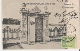 TURQUIE - CONSTANTINOPLE. CPA Souvenir De Constantinople Porte Du Kiosque  Des Eaux Douces D'Asie - Turkey