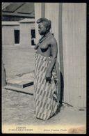 AFRIQUE - Femme Aux Seins Nus - Jardin D'acclimatation - Jeune Femme Foula.( Ed. ND. Phot. )  Carte Postale - Erotik Fremder Völker