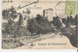 TURQUIE - CONSTANTINOPLE. CPA Souvenir De Constantinople Porte De Yedi Koulé - Turkey