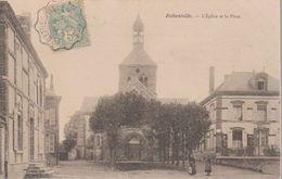 BETHENEVILLE -LA PLACE ET EGLISE - Bétheniville