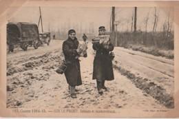 Z7- GUERRE 1914-15 - SUR LE FRONT - SOLDATS ET LEURS CADEAUX  - (ED. PAYS DE FRANCE - MILITARIA - WW1 - 2 SCANS - Guerre 1914-18