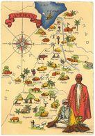 CPSM CAMEROUN - Série Carte Géographique BARRE DAYEZ N°1326-O Dépot 1942 - Cameroun