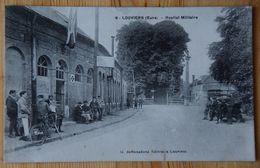 27 : Louviers - Hôpital Militaire - Animée : Belle Animation - Militaria - (n°18205) - Louviers