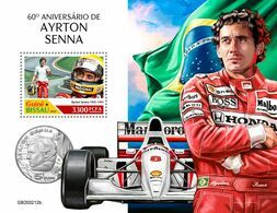 Guinea Bissau 2020 60th Anniversary Of Ayrton Senna. (0212b)  OFFICIAL ISSUE - Cars