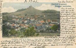 CPA 88 Vosges Centrales Central Vogesen Dagsburg - Dabo - France