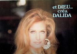 33 T Vinyle Et Dieu Créa Dalida (Double Album, Carrere, 1978) - Compilations