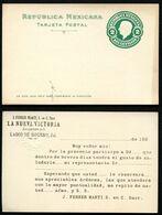 Mexico Postal Card MEPSI #PC119 Preprinted 1910 - Mexique