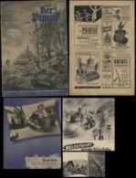 WW II HJ Hitlerjugend November 1941, Der Pimpf: 22 Seiten ,einige  Abbildungen Kreta, Militär ,Bedarfserhaltung , Vers - Storia Postale